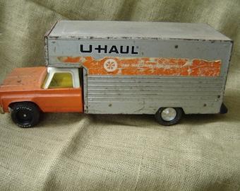 Vintage Nylint U-Haul Truck Industrial Decor Uhaul Truck 1960s