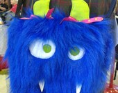 Gussie the Medium NomNom Monster Bag Messenger Crossbody Purse Pouch