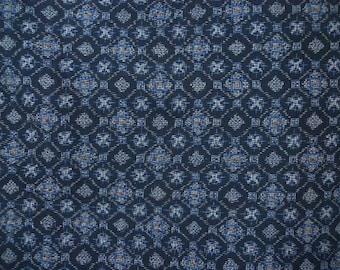 Vintage haori S420,  Oshima silk