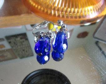 Cobalt blue clips