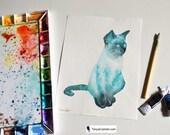 Cat Spirit Animal ORIGINA...