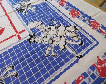 Vintage Broderie REPRO Tablecloth