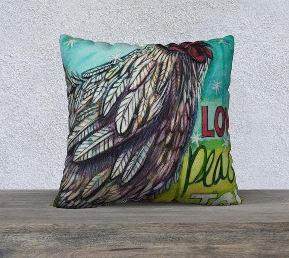Canadian Inspired Home Decor Canada Pillow Via Etsy: Chicken Throw Pillow Decorative Cushion Cover Home Decor