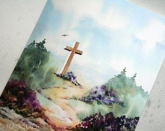 PRINT Julia's Cross a Giclée Fine Art Print 8x10 inches