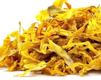Organic Dried Sunflowers - Organic Flowers - Wedding Flower Petals - Ecofriendly Wedding  - Dried Sunflower Petals - Certified Organic