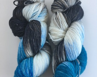 Stormy Skies Sock Yarn