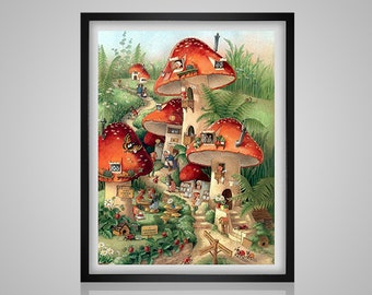 The Fairyland by Shirley Barber  pdf crossstitch tutorial vintage art  modern crossstitch  x stitch  INSTANT DOWNLOAD