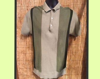Vintage 50s/60s tri tone knit Size small