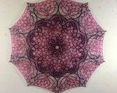Raspberry Blush Parasol