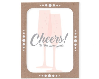 Boxed Set of Six -- Cheers to the new year
