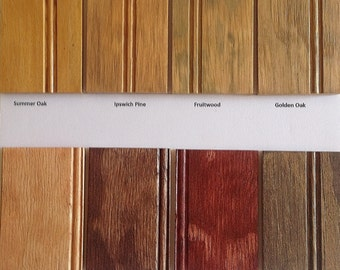 STAIN & FINISHING SAMPLES - Price Refunded When Kabinet Order is Received