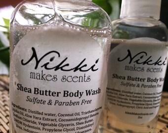 Shea Butter Body Wash Sample - BAKERY-inspired fragrances