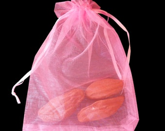 Rose Pods Solid Potpourri Incense Scented Sachet in Organza Gift Bag