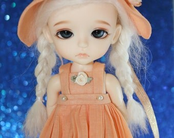 LATI Yellow - Pukifee - Vintage Series - Dress and Bonnet Hat SET - #5