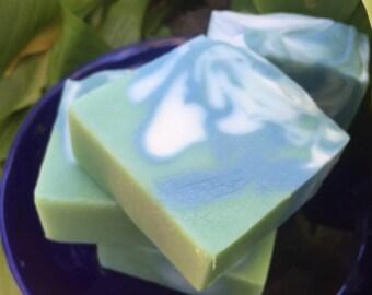 Summer Breeze Floral Handmade Soap