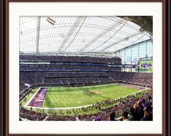 MN Vikings US Bank Stadium - Fine Art Print