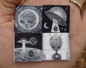 Mini Painting Set - Moon Story