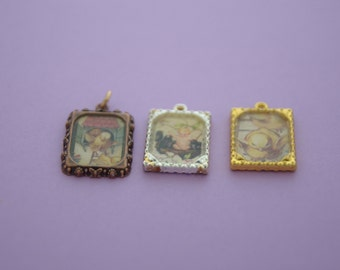 Trio Set EASTER in a FRAME Collection Charms