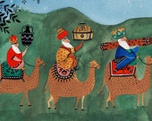 "Three Wise Men (Limited addition art print from ""Stories from the Bible"")"