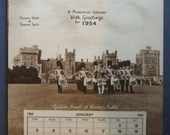 1954 Britain at its Best Photochrom Calendar