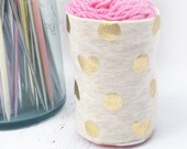 Yarn Keeper- Yarn Bowl- Yarn Jacket- Yarn Tamer- Yarn Sock- Yarn Cozie- Yarn Holder- Yarn Organizer- Crochet Accessory- Skein Coat- Storage