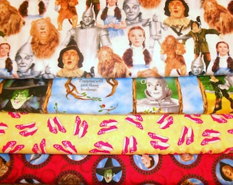 WIZARD Of OZ #2  Fabrics, Sold INDIVIDUALLY not as a group, by the Half Yard