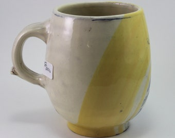 Yellow Earthenware Mug