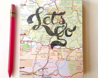 Let's go map Journal woth Colorado map