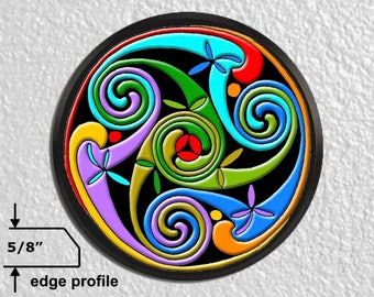 Celtic Triskelion Large Wall Plaque