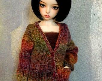 large mini BJD sweater Impressionist