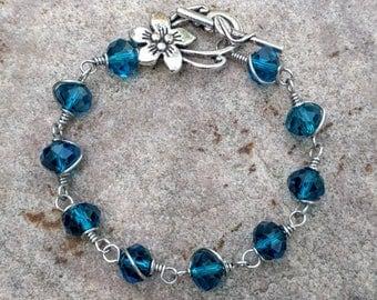 Crystal Garden Bracelet~FREE SHIPPING!