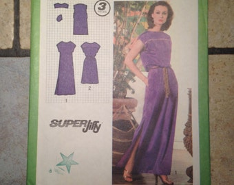 Simplicity 9033 Size 12 Misses' Easy Dress Pattern