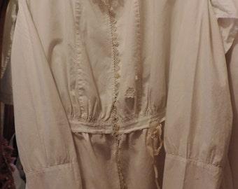 SALE:  Gypsy Cotton Pique  Blouse/Tunic/ Jacket