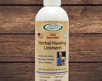 Herbal Healing Liniment 8oz