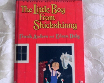 Little Boy from Shickshinny, Anders/Daly, Illustrated Children's Book, (1965)