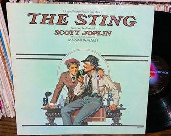 The Sting Vintage Vinyl Soundtrack Record