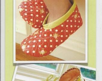 Sale!  Slipper Cuties pattern (FTQ757) - Fig Tree Quilts