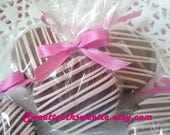 CUSTOM Listing For Lina Pink Chocolate Covered Oreos Cookies