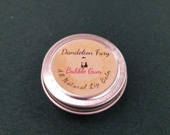 All Natural Bubble Gum Lip Balm Tin