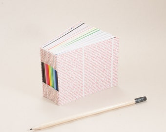 Bitty Mini Blank Book with a Page for Every Day of the Year