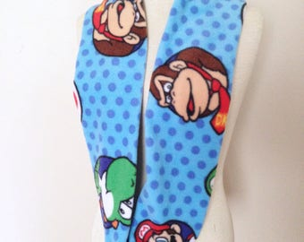 Mario and Friends Infinity Scarf