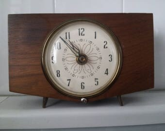 Vintage WESTCLOX Wood Clock