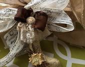 Stocking Ornament - Victorian Stocking Tree Ornament