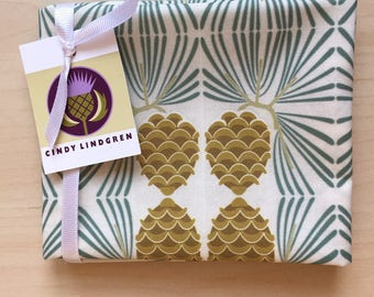 Pine Cone,Fat Quarter, Spoonflower,large