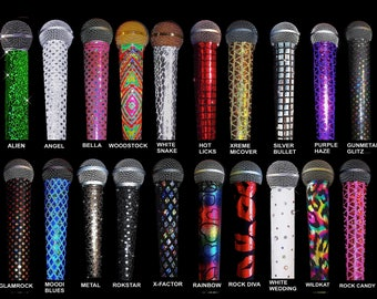 Microphone Cover Skins for CORDLESS Microphones