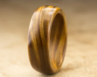 Size 10.5 - Guayacan Wood Ring No. 422