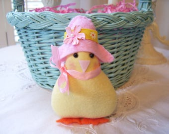 Darling Little Chick....In My Easter Bonnet...Cute