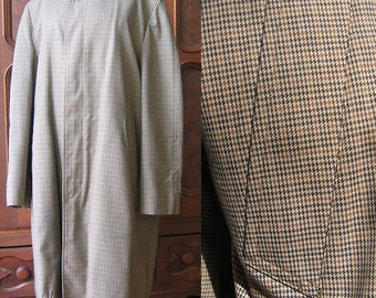 London Fog Coat for Men Faux Fur Zip-Out Lining
