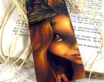 Spring cleaning sale Falling for her - Laminated bookmark