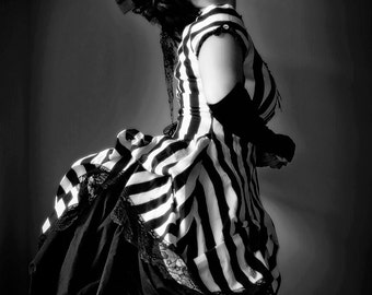 Black and White Gothic Victorian Photography